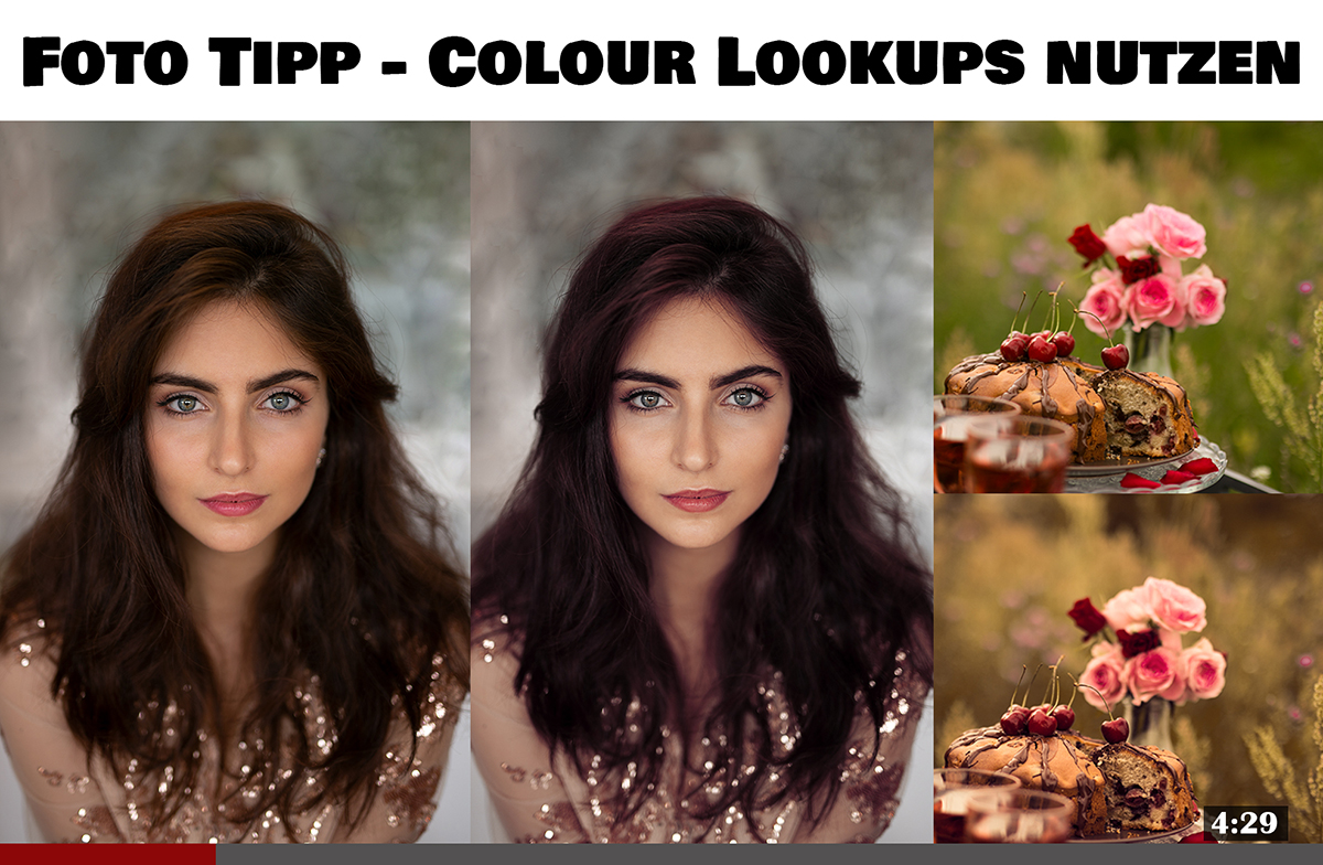 Foto Tipp Colour Lookups nutzen